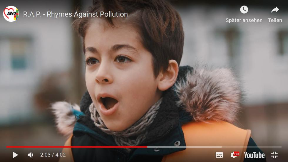 Musikvideo Rhymes against Pollution